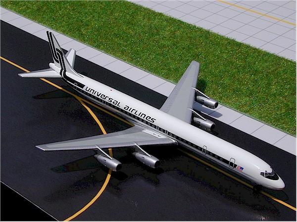 Douglas DC-8-61F Universal Airlines