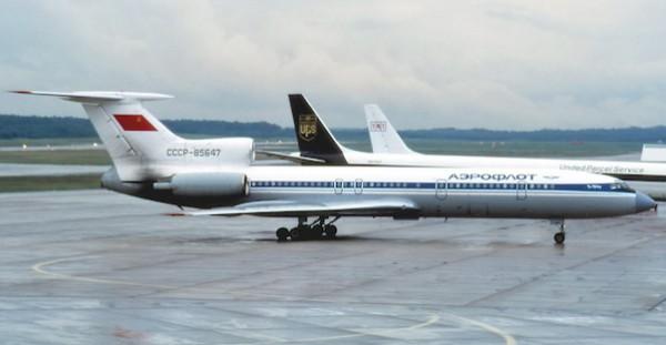 Tupolev Tu-154M Aeroflot