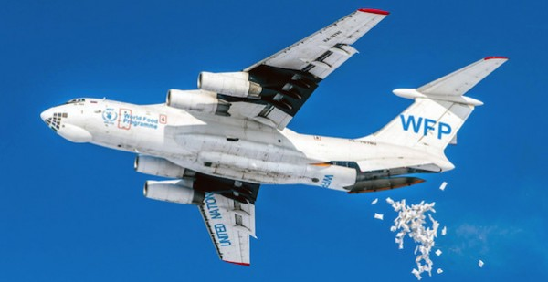 Ilyushin IL-76T World Food Programme