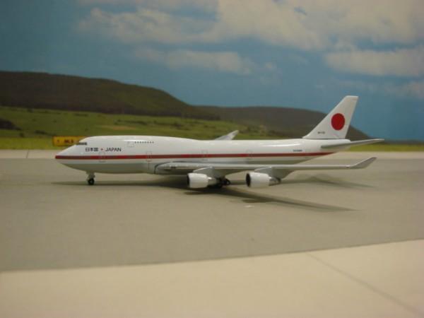 Boeing 747-400 Japan Air Self Defense Force
