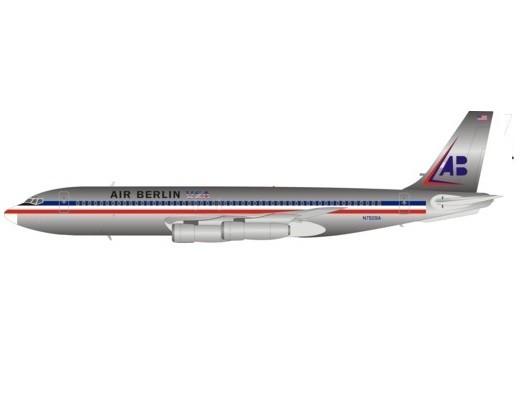 Boeing 707-300 Air Berlin USA