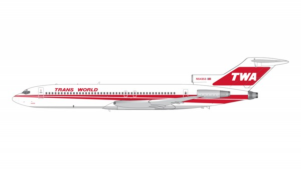 Boeing 727-200 TWA Trans World Airways