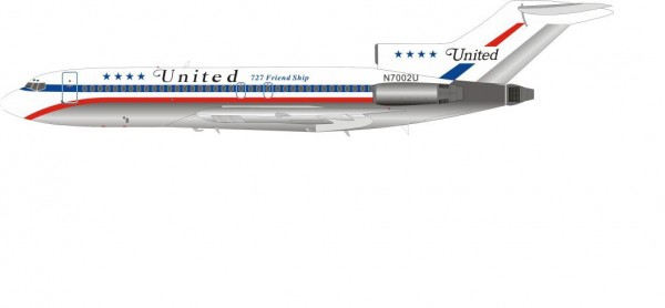 Boeing 727-100 United Airlines
