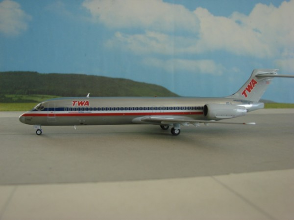 Boeing 717-200 TWA - Trans World Airlines