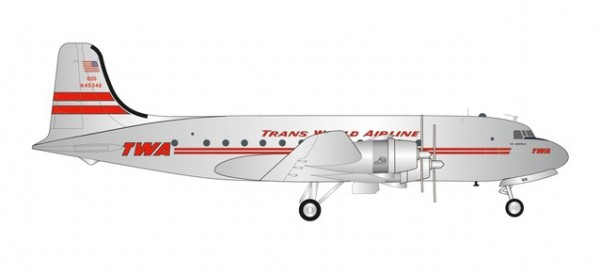 Douglas DC-4 TWA Trans World Airlines
