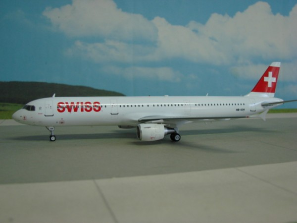 Airbus A321-100 Swiss International Air Lines