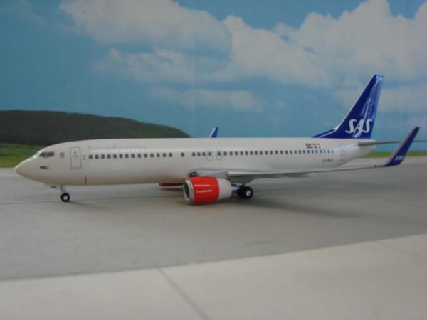 Boeing 737-800WL SAS Scandinavian Airlines
