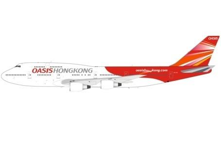 Boeing 747-400 OASIS Hong Kong