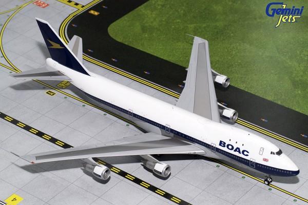 Boeing 747-100 British Overseas Airways Corporation