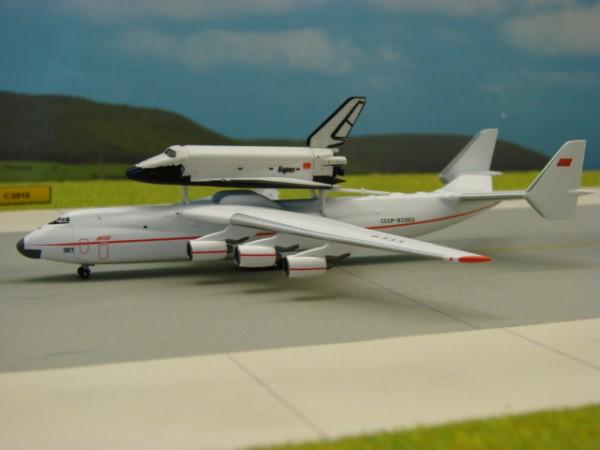 """Antonov AN-225 """"Mriya"""" Antonov Design Bureau + Buran Shuttle"""
