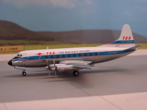 Vickers Viscount 700 TAA - Trans Australia Airlines