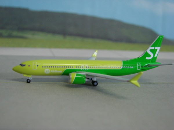 Boeing 737 Max 8 S7 Siberia Airlines