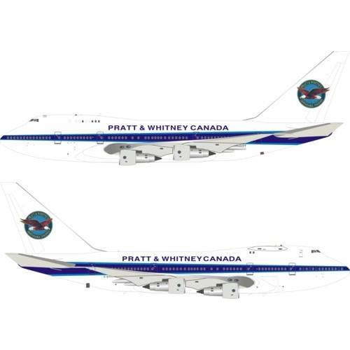Boeing 747SP Pratt and Whitney Canada