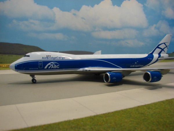 Boeing 747-8F Air Bridge Cargo