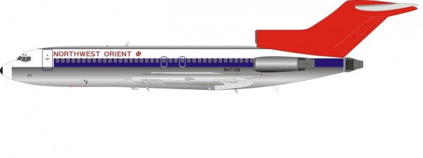 Boeing 727-100 Northwest Orient Airlines