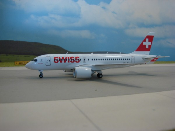 Airbus A220-100 Swiss Air Lines