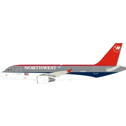 Airbus A319 Northwest Airlines